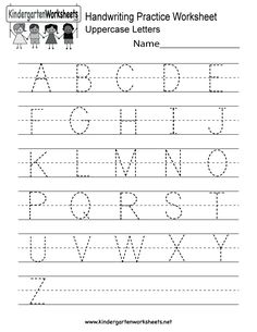 kindergarten letter b writing practice worksheet printable  things  this is a handwriting practice worksheet for uppercase letters this would  be great for kids in kindergarten or first grade you can download print