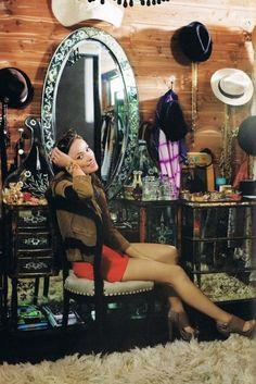 Olivia Wilde's closet