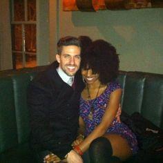 Cutie interracial couple interracialeroticabooks.com #interracialcouple #whiteboyblackgirl #bwwm