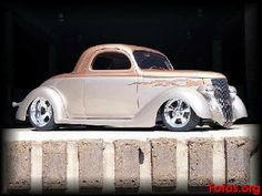 1936 Ford Coupe Vintage Cars, Antique Cars, Car Man Cave, Old Fords, Car Drawings, Street Rods, Dream Garage, Big Trucks, Hot Cars