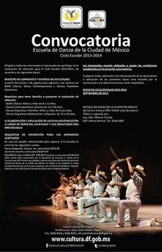 Convocatoria de Escuela de Danza de la Ciudad de México