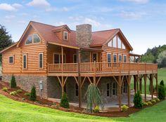 58 best log home exteriors images log homes exterior log home rh pinterest com