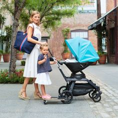 With its fun skateboard riding position, our Sidekick™ is the only stroller board your older children will actually ask to ride.