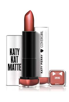We're Losing It Over These New CVS Beauty Buys #refinery29  http://www.refinery29.com/2016/06/114987/new-cvs-makeup-products#slide-2  Katy Perry teamed up with CoverGirl to design a super-impressive makeup line. This matte lipstick, available in 13 shades, is one of the more exciting gems. It's infused with shea butter and won't leave your lips chapped or peeling — so you can be ready to kiss a girl, or anyone you plea...