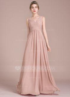 2204d2d83 14 Best Long bridesmaid dresses images