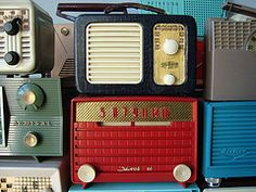 old radios. sigh