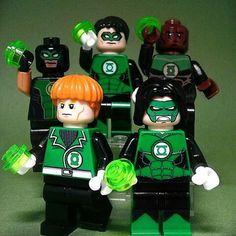 Earth's green lanterns