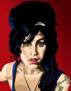 Amy Winehouse - Amy Winehouse Fan Art (25518185) - Fanpop fanclubs
