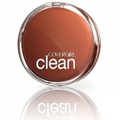 Covergirl Clean Pressed Powder, Creamy Natural NATURAL, FRESH-LOOKING SKIN: Clean pressed powder makeup makes skin look smooth and naturally beautiful HIDES PORES: Lightweight powder reduces the appearance of pores without clogging. Pressed Powder Foundation, Natural Foundation, Makeup Foundation, First Date Makeup, 4th Of July Makeup, Best Compact Powder, Disney Makeup, Classic Tan, Shops