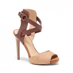 Patrik - Heels, Sandals | Cross straps with a peep toe | Cute Summer Shoes!