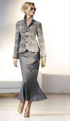 My Style: Work-wear, chic. Office Fashion, Work Fashion, Fashion Outfits, Womens Fashion, Fashion Trends, Style Fashion, Classic Fashion, Ladies Fashion, Fashion Ideas