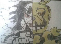 Springtrap vs Shishio Makoto !!!!! The Best's Antagonist's of Games and Mangás!!!!!