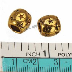 Zinc Alloy Round Star Large Hole Beads,Plated,Cadmium And Lead Free,Various Color For Choice,Approx 15.5*8*12mm,Hole:Approx 5mm,Sold By Bags,No 010022