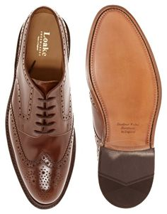 Loake Hoxton Leather Brogues