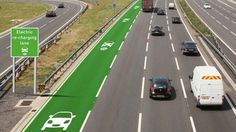 UK Tests Highway Lanes That Charge Electric Cars — Design News