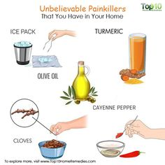 natural painkillers from your kitchen