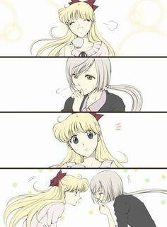 Minako and Yaten