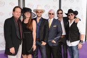 "From left, Jim Wilson, Faith Conroy, Todd Lowe, Bruce Wayne Eckelman, Skeet Ulrich, and Christian Kane are seen at the 30th Running of the Breeders' Cup World Championships Day 2, on Saturday, November 2, 2013 in Arcadia, Calif. (Photo by Dan Steinberg/Invision for Breeders' Cup/AP Images) there promoting the movie ""50 to1"" that opens limited release March 21, 2014"