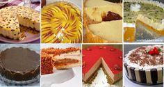 As 10 Tortas Doces Para a Sobremesatêm tortas para todos os gostos. Tortas à base de frutas, como a Torta de Limão, a Torta Cremosa de Maçã, a Torta Mouss