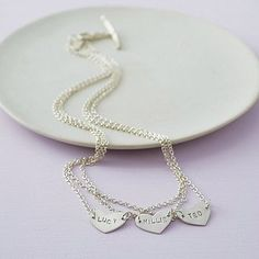 Personalised Layered Love Name Necklace