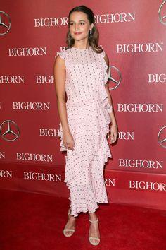 Palm Springs Film Festival Gala: Alicia Vikander