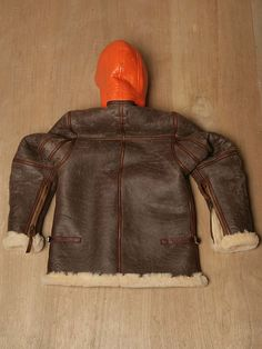 c9d34316dbd2 Nigel Cabourn Men s Coastal Command Sheepskin Jacket