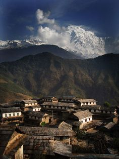 Ghandruk village in the Annapurna mountains, The dates for the 2014 photography and trekking tour in Nepal has been set: October 10 to 25! Please check our website for details and booking: http://www.photography-trekking.asia/
