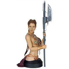 Busto Star Wars. Leia Organa, Jabbas Slave, 16 cms