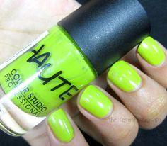 The Feminine Crusade: Color Studio Professional Haute Nails - Sea Green