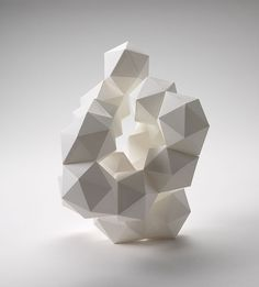 3d geometric by Daryl Ashton via of paper and things .