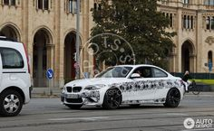 BMW M2 spotted in Alpine White