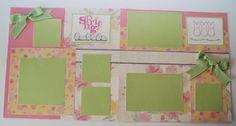 Easter My Peeps Scrapbook Layout