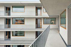 Waechter + Waechter Architekten - St. Josef senior housing, Frankfurt am Main 2015. Via, 2, photos © Thomas Ott