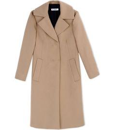 b4bf192d3a0 Jil Sander Classic Camel Coat