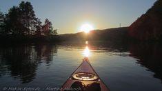 Kayaking on Lake Ruhr, GER, EU