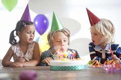BURSDAGSLEK 4-6 ÅR: Aktivitet og lek er en viktig del av barnebursdagen.