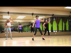 I love this Zumba routine by Juliet of J Fit Dance Fitness ...Blurred Lines - Robin Thicke.