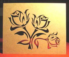 Fleurs et Plantes : Chantournage