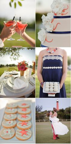 @Lilly Pulitzer inspired wedding! love it!