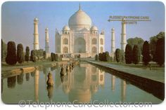 "- Taj Mahal - No written text ""Plessey Payphone Card 1000 Units"" on front side up right corner. Great Britain, Finland, Taj Mahal, Mexico, Around The Worlds, Cards, Corner, Travel, Voyage"
