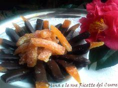 Mina e le sue Ricette del Cuore: Scorze di arancio candite