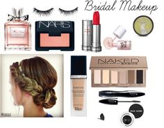 simple makeup for a rustic theme Rustic Theme, Simple Makeup, Bridal Makeup, Dior, Blush, Eyeshadow, Lipstick, Polyvore, Beauty