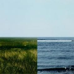 Jan Dibbets. Land-Sea Horizon 3. 2011.