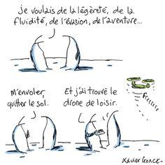 Les Indégivrables, par Xavier Gorce