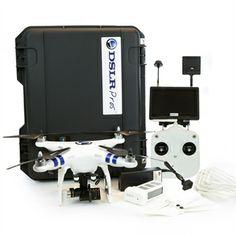 Custom DJI Phantom 2 kit with GoPro and FPV. Dji Phantom 2, Gopro, Technology, Kit, Toronto, Drones, Plane, Weapons, Cinema
