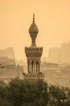 Minaret in old Cairo - Egypt