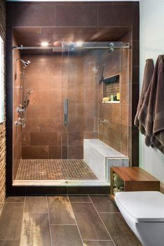 Our master bathroom is our retreat so we opted for an oversized master shower fo… – Marble Bathroom Dreams Master Shower, Home, Tile Design, Bathroom Shower Tile, Small Master Bathroom, Shower Stall, Bathroom, Bathroom Shower, Bathroom Design