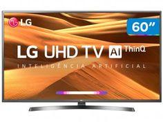 "Smart TV 4K LED 60"" LG 60UM7270PSA Wi-Fi HDR - Inteligência Artificial Conversor Digital 3 HDMI - Magazine Lojajessi Wi Fi, Usb, Smart Tv 4k, Tv Led, Magazine, Magic, Mina, Goku, Operating System"