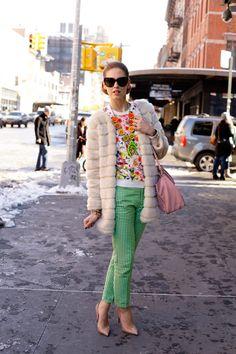#fashion #fashionista Chiara New York fashionweek: day 5 | The Blonde Salad