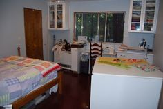 my sewing room - not quite finished yet, but getting there!!!
